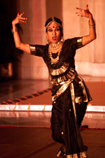 Dancers perform during the cultural entertainment at the State Dinner.  Rashtrapati Bhavan, New Delhi.